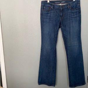 Ann Taylor LOFT Jeans Modern Bootcut Size 12